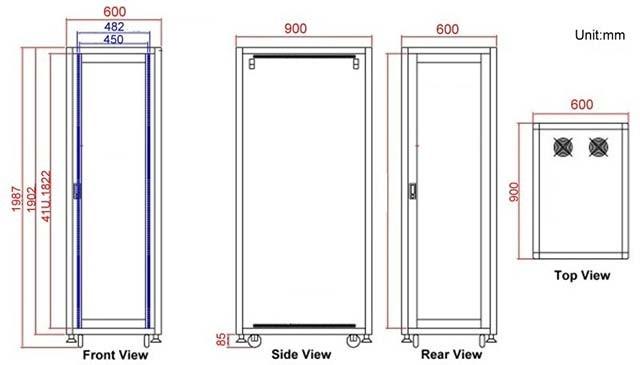 Kích thước tủ rack như nào? Làm sao để lựa chọn tủ rack phù hợp?